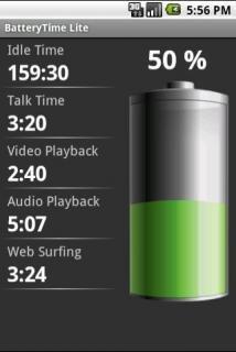 программа на телефон индикатор батареи на