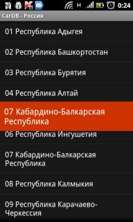 кода регионов россии