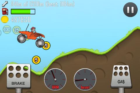 игра Hill Climb Racing для андроид