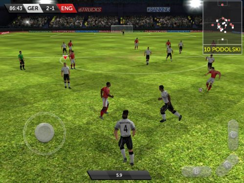 First Touch Soccer на ipad