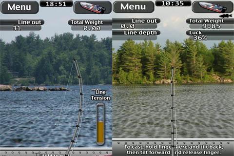 игра i Fishing на андроид