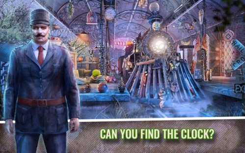 Train of Fear Hidden Object Mystery Case Game