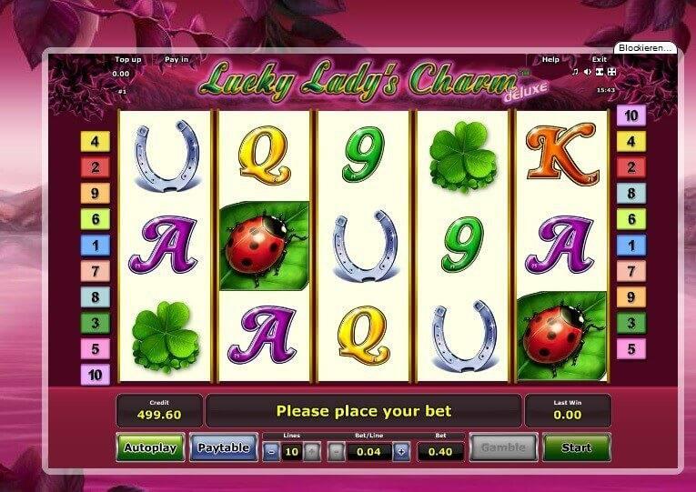 Lucky lady charme kostenlose spiele