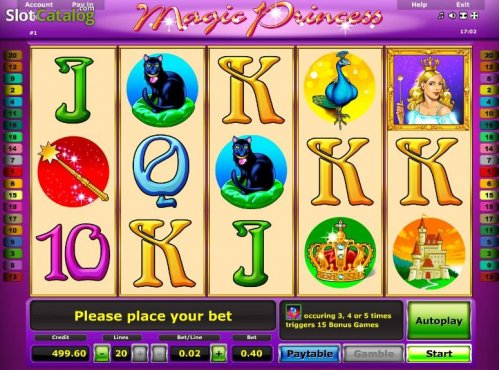 Играем онлайн в казино Вулкан Старс в слот Magic Princess