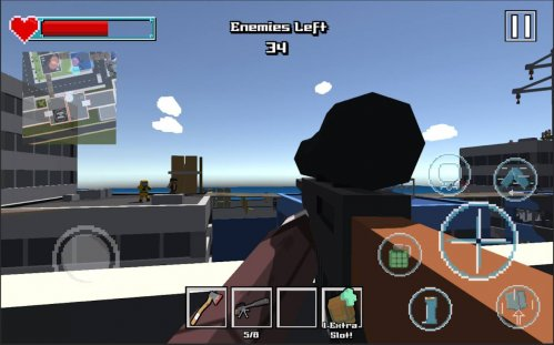Sniper Shooter Blocky Hitman на андроид