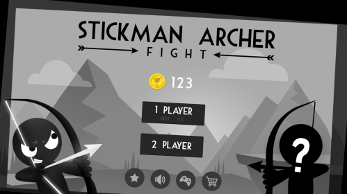 Игра Stickman Archer Fight на андроид