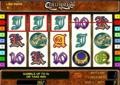 какие автоматы в казино коламбус по отдаче
