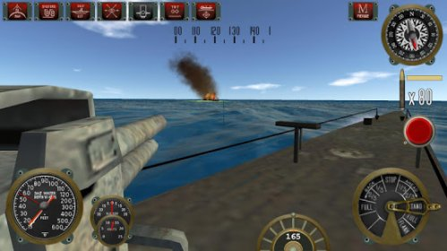 Silent Depth Submarine Sim на андроид