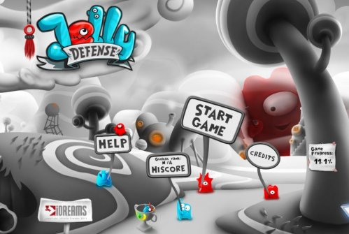 Игра Jelly Defense на iphone